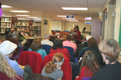 Dianne Hicks Morrow, Poet Laureate of PEI, reads in Montague, PEI